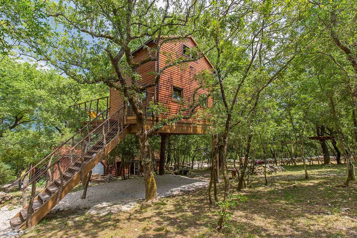 FIrst Treehouse Croatia 1
