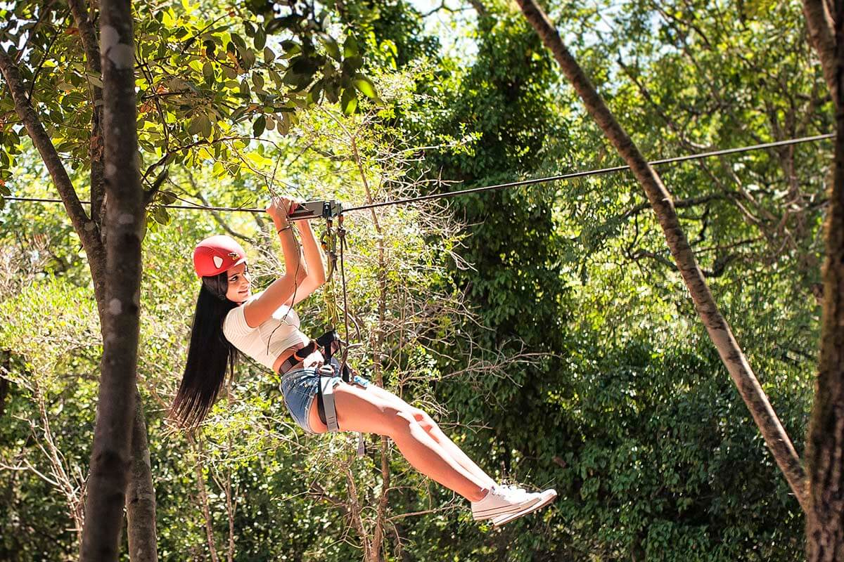 Adventure Park & Zip Lines at Cadmos Village adrenaline park