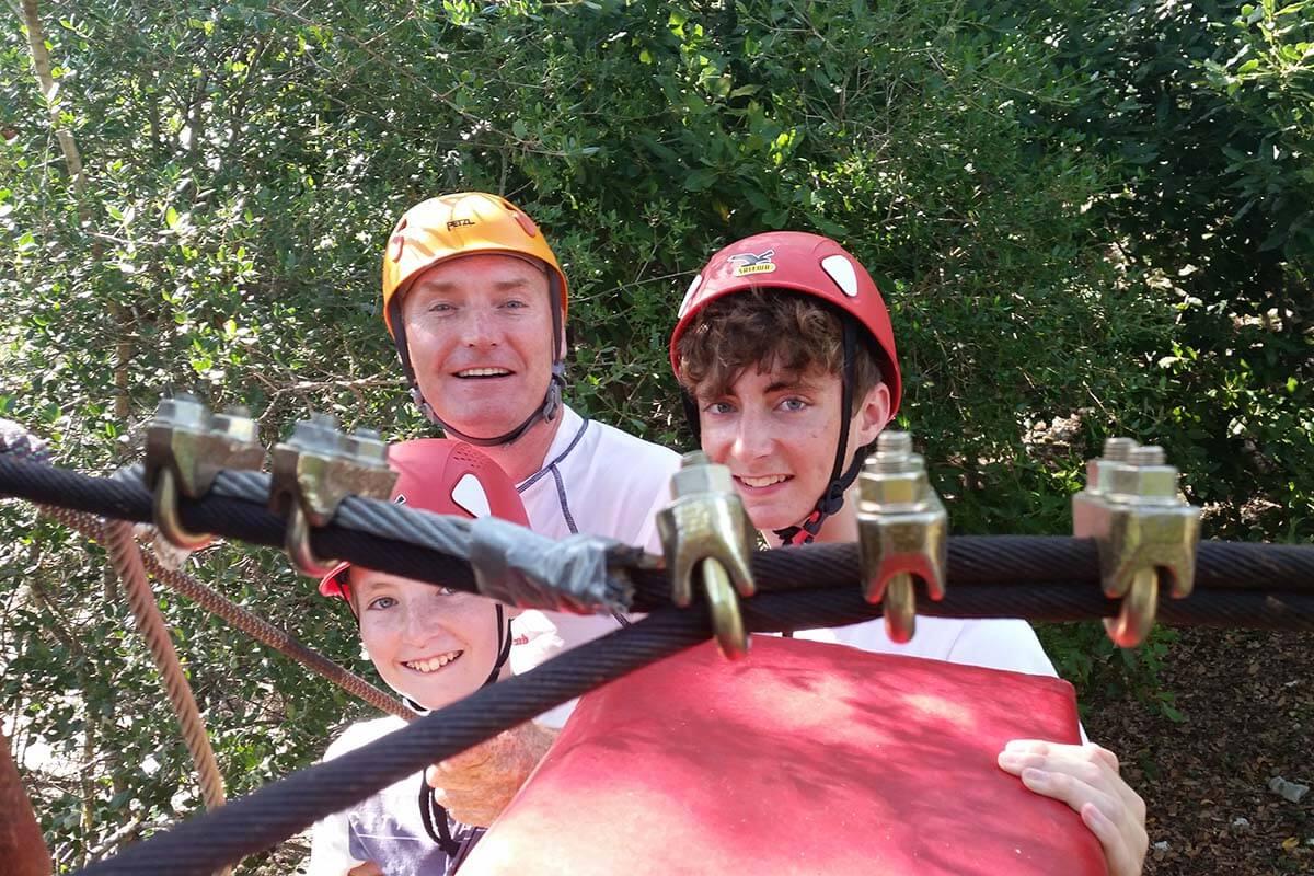 Adventure park Cadmos slide 4