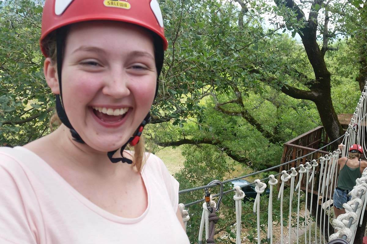 Adventure park Cadmos slide 7
